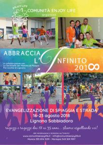 comunità enjoy life missione abbraccia l'infinito 2018