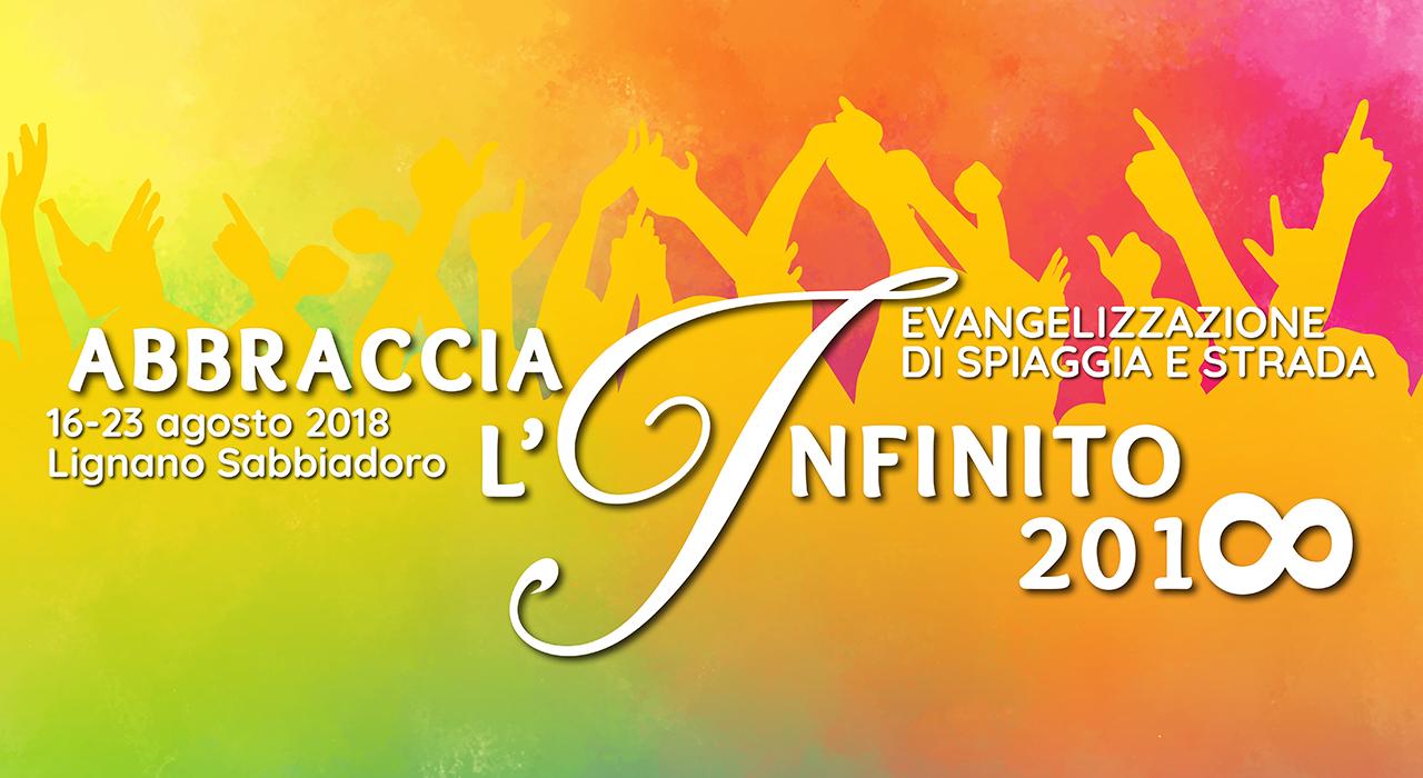 missione abbraccia l'infinito 2018 comunità enjoy life lignano sabbiadoro